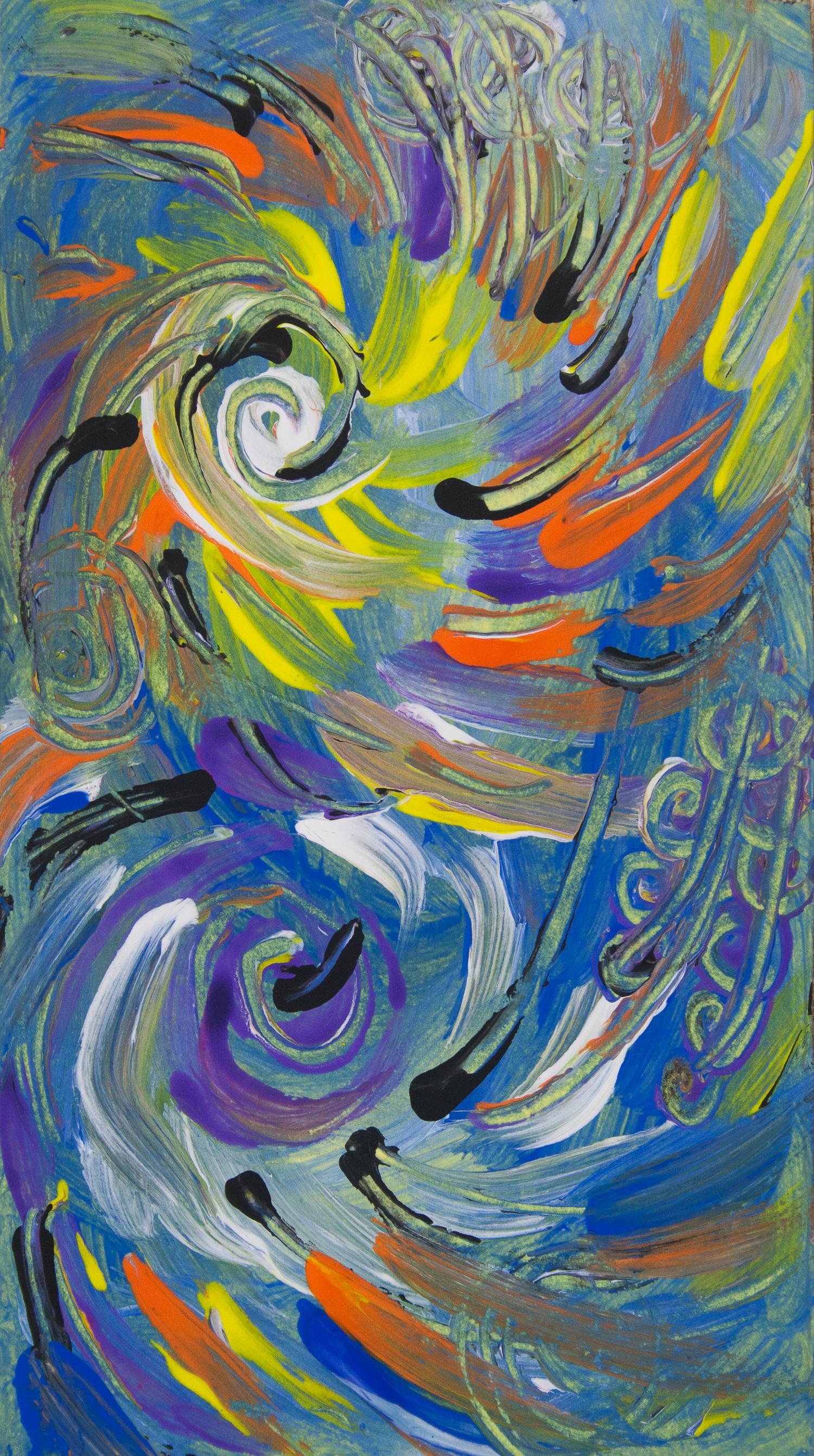 Spirali Astratte Multicolori Italiarte